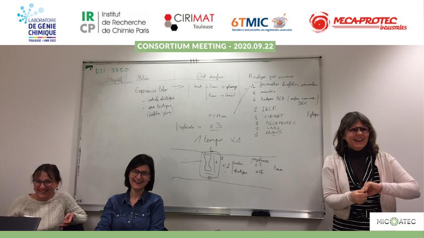 Consortium Meeting of 2020.09.22